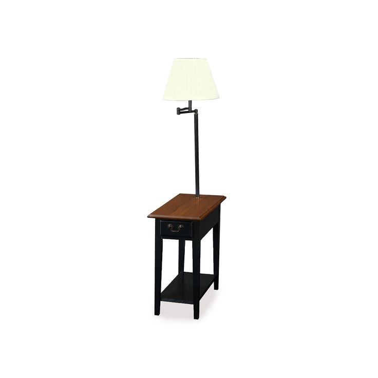 Leick Furniture Chairside Lamp End Table, Other Clrs