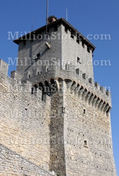 Rocca della Guaita, the most ancient fortress of San Marino Republic