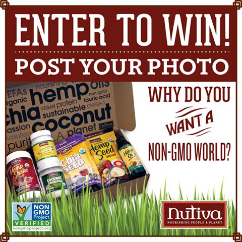 Enter to win from Nutiva! Get all the info here: https://www.facebook.com/GmoInside