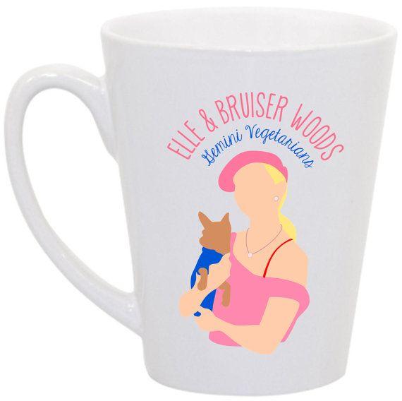 "Legally Blonde ""Elle and Bruiser Woods: Gemini Vegetarians"" by perksofaurora, $16.00  Legally Blonde!  Love Elle Woods."