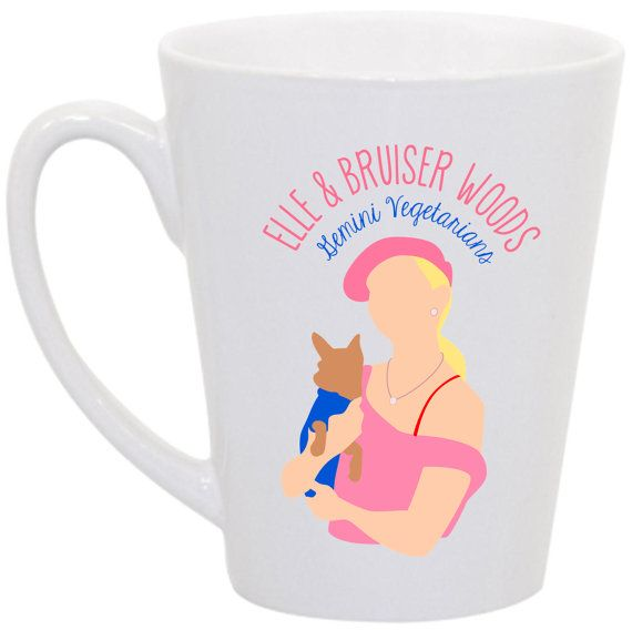 "Legally Blonde ""Elle and Bruiser Woods: Gemini Vegetarians"" by perksofaurora, $16.00  Legally Blonde!  Love Elle Woods."