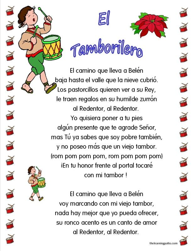 We have several popular villancicos. Join www.thelearningpatio.com and get thousands of activities for only $1.99