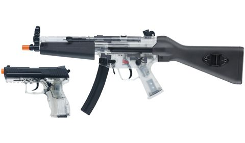 Heckler and Koch Clear Airsoft Gun Kit Find our speedloader now! http://www.amazon.com/shops/raeind