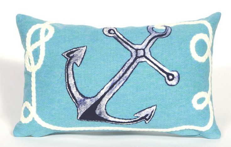 So fun for a nautical cottage look or on board your boat!