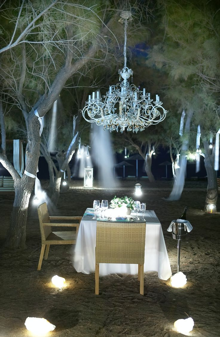 Sooooo romantic!  A wedding venue set amongst the Tamarisk trees at the LINDIAN Village Hotel in Lindos.