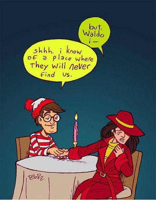 Waldo anddd Carmen SanDiego...!