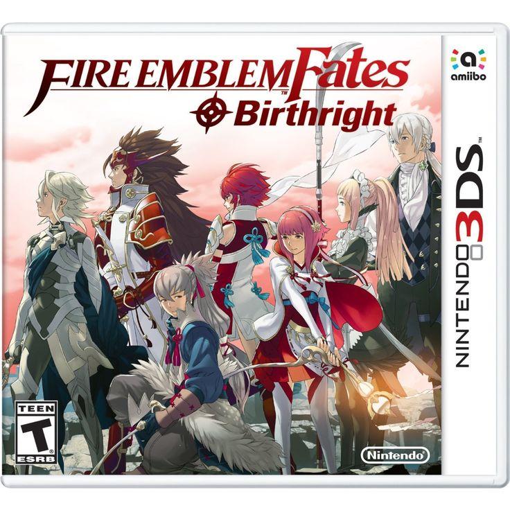 (Red) Emblem Fates: Birthright - Nintendo 3DS