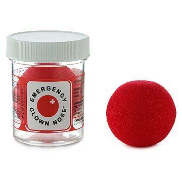 Emergency Clown Nose. Pop on an instant pick-me-up! Created by professional clowns to promote healing through laughter.   $ 5.00