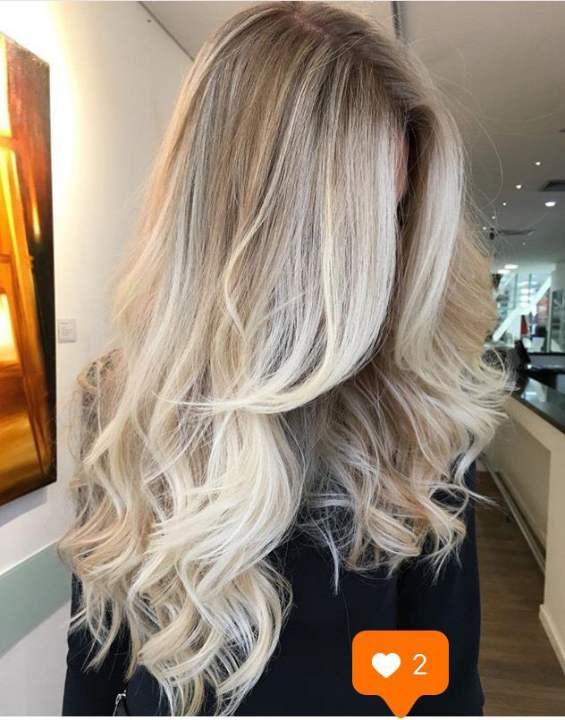 Styling blonde haare