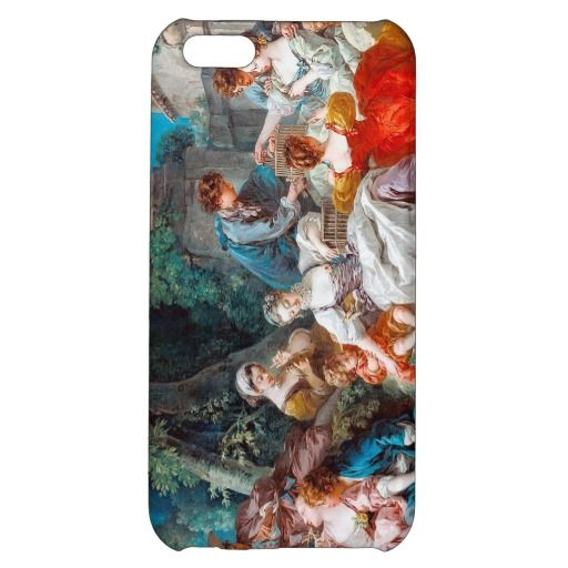 The Bird Catchers François Boucher rococo scene iPhone 5C Cases