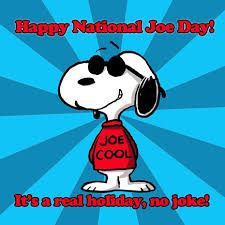 Happy Natl Joe Day! Wether it's Joe Cool or what every you want it to be. Have a great Day :)#Funintheburbs