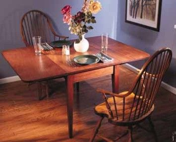 89   Drop Leaf Table   This Is A Plan Ripped Off From Popular Woodworking  Magazine