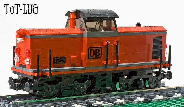 DB Class 212 in LEGO