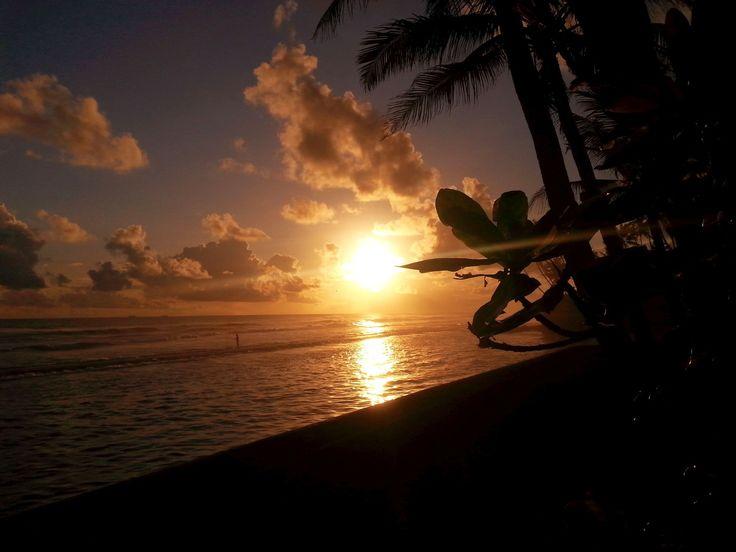 Sonnenuntergang am Ayurvedahotel Paragon, Sri Lanka #ayurveda #paragon #ayurvedakur #ayurvedareise