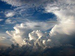 Cumulus, Clouds, Dramatic, White