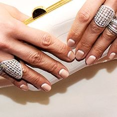 Jennifer Lopez Inspired Nails Get Her Reverse French Manicure - L'Oreal Paris