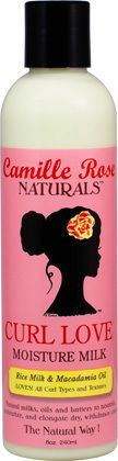 Camille Rose Naturals Curl Love Moisture Milk (8 oz.) - NaturallyCurly
