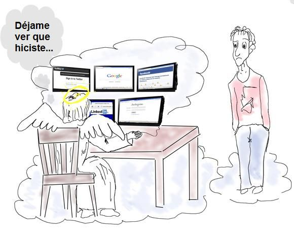 Todo queda en las #RedesSociales... y en #Google