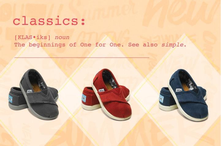 Tiny TOMS - Shoes & Apparel for Tots | TOMS.com