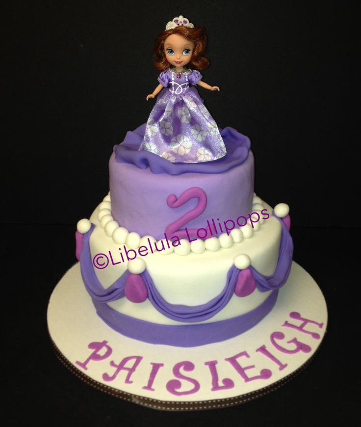 Cake Design Princess Sofia : 95 best images about Cakes - Disney / Sofia the First on ...