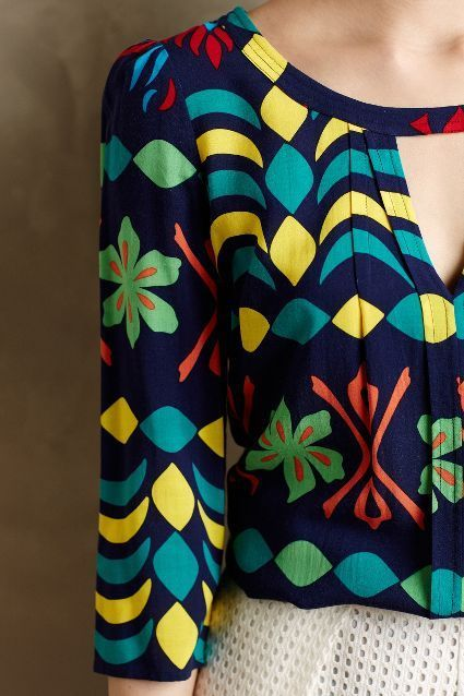 #PersonalShopper: blusa colorida que aporta personalidad y dinamismo: