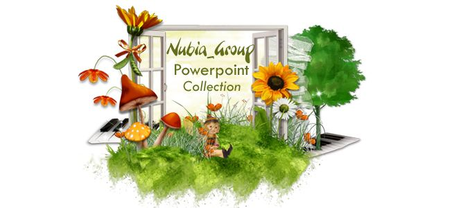 * Colección Nubia_group Powerpoint *