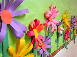 decoración primavera aula infantil - Buscar con Google