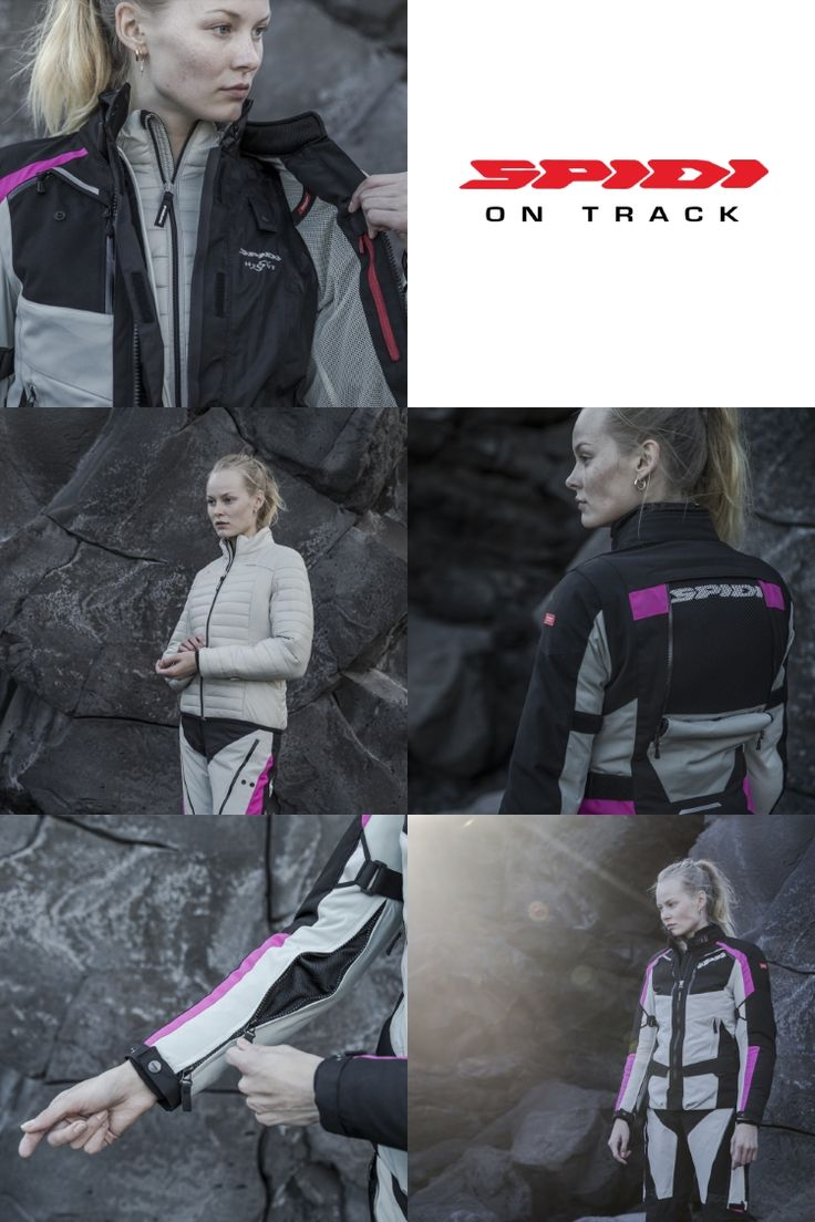 O 4 Season Lady é o casaco da Spidi desenvolvido para o sexo feminimo onde a tecnologia é ponto de partida para optimizar o conforto e a segurança.  #Spidi #4Season