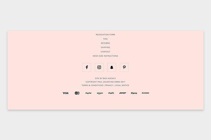 10 Best Examples of Website Footer Design | AGENTE