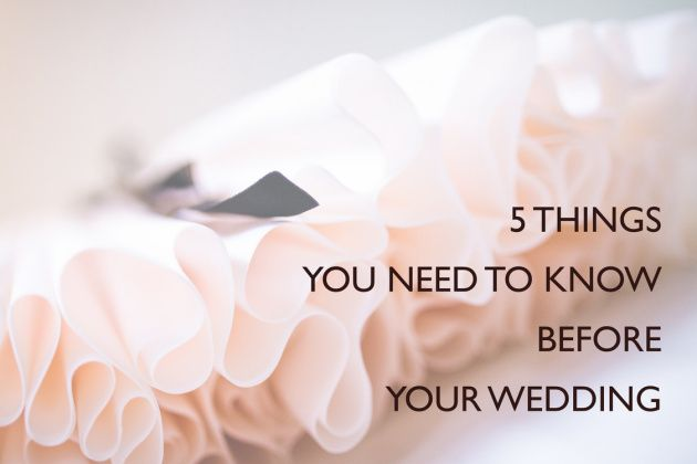 5 things your wedding photographer will ask you before your wedding. Be prepared!