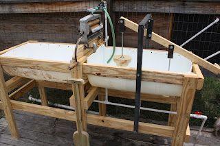 Modern Day Redneck: Hand Powered Washing Machine Update