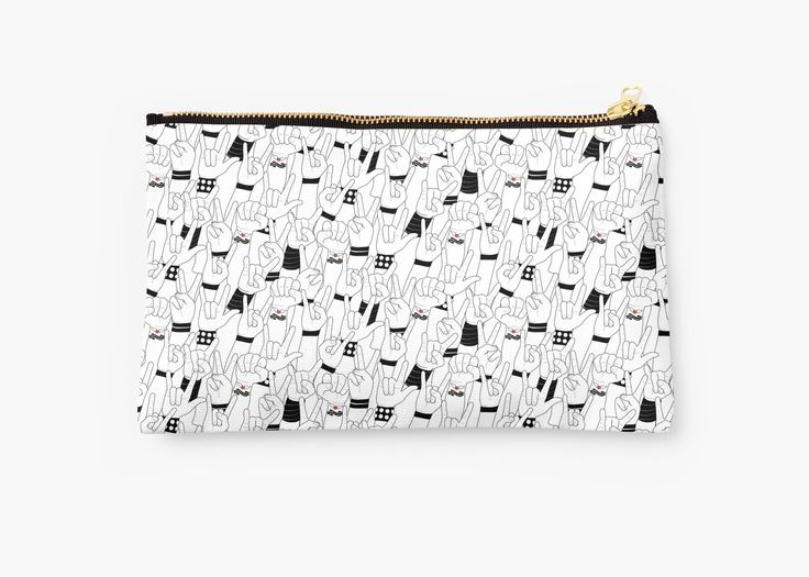 #music #love #rockandroll #rock #concert #crowd #mia #redbubble #pouch
