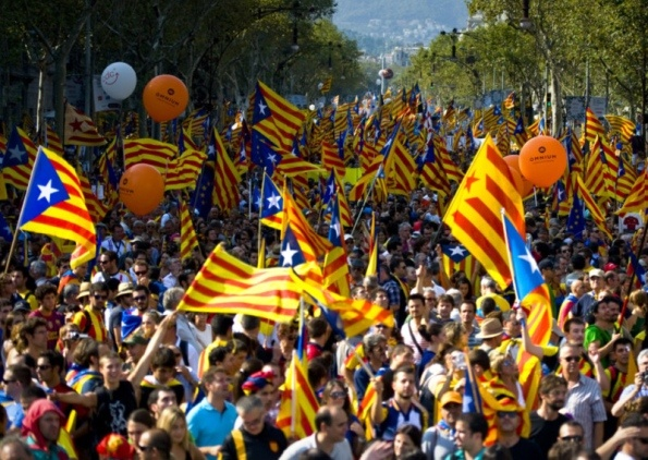 "Kathryn Crameri: Catalans face fight to vote - Scotsman. ""Cameron knew that he was faced with a political problem that needed a political solution. The consequent transferral of powers to Scotland to enable the referendum is a clear example of how legal obstacles can be overcome when there is a political will to do so. Rajoy, on the other hand, is clinging to the fact that the law, as it stands, keeps Catalonia tied to Spain."""
