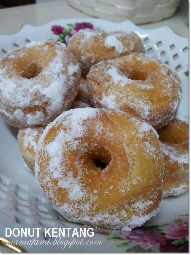 Potato Donuts (Donut Kentang)