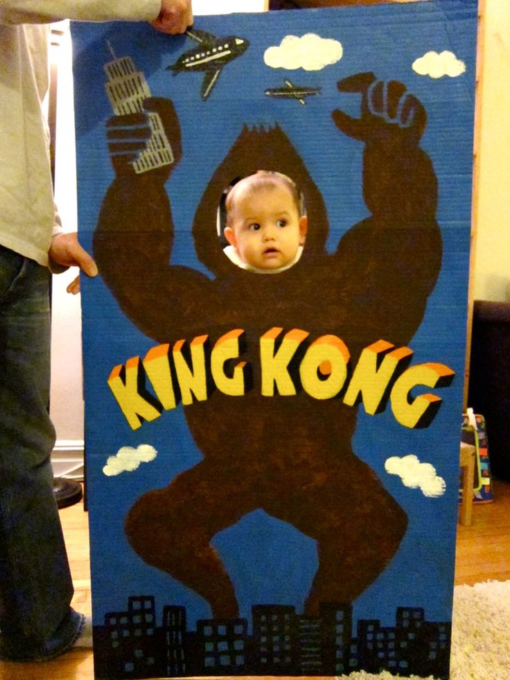 king kong party-LOVE this idea
