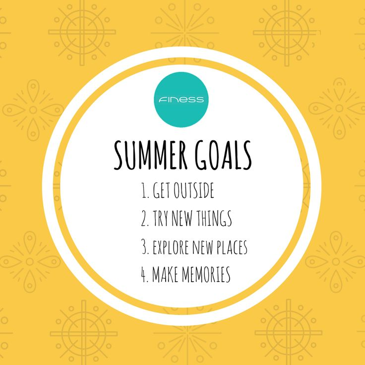What are your Summer goals? #explore #makememories @havefiness