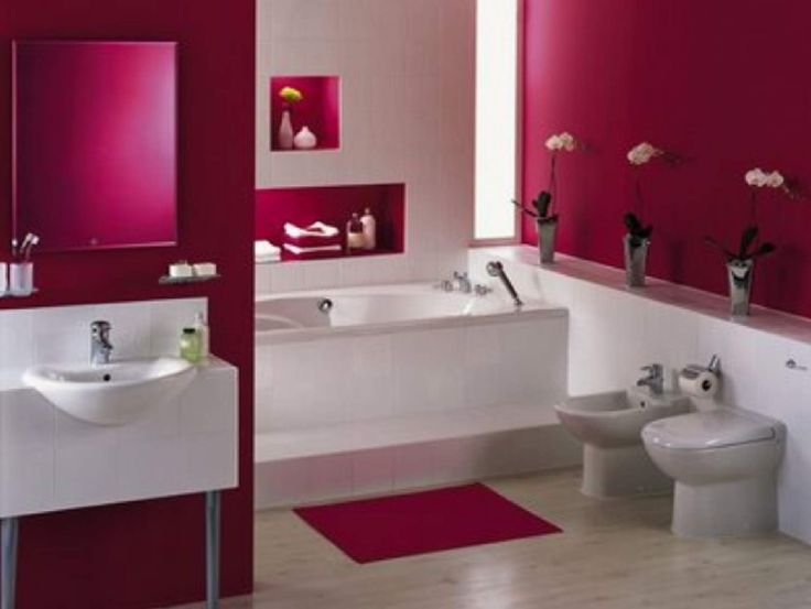 There Is More To A Cool Pink Bathroom Suite As The Eye Can See.