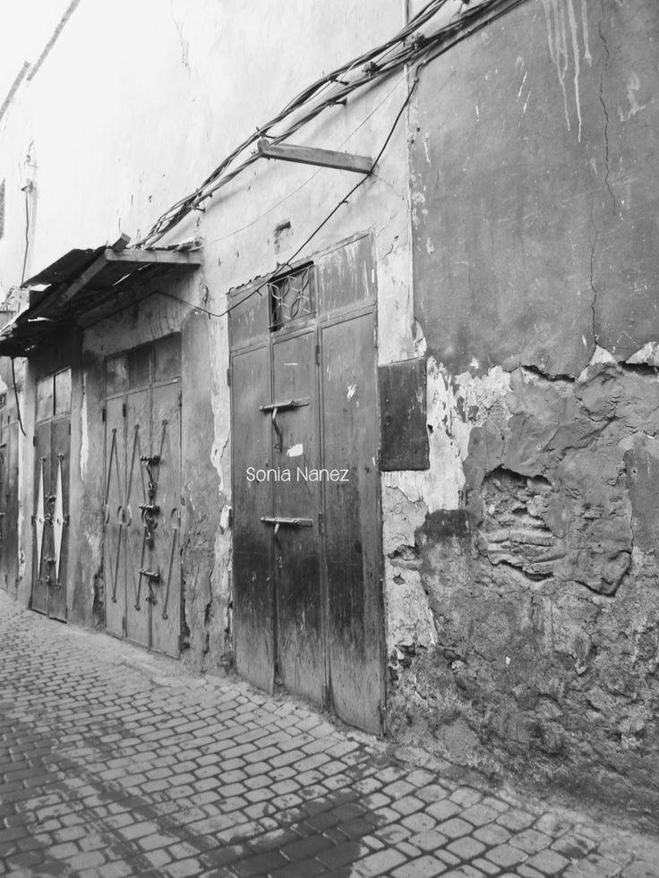 Marrakech en blanco y negro