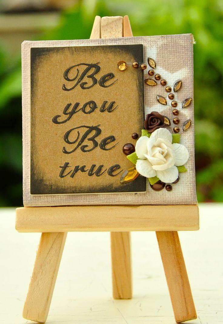 117 best Miniature Canvas Art images on Pinterest | Bricolage ...