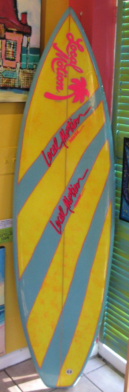 Used Local Motion Surfboards For Sale Old Vintage Retro