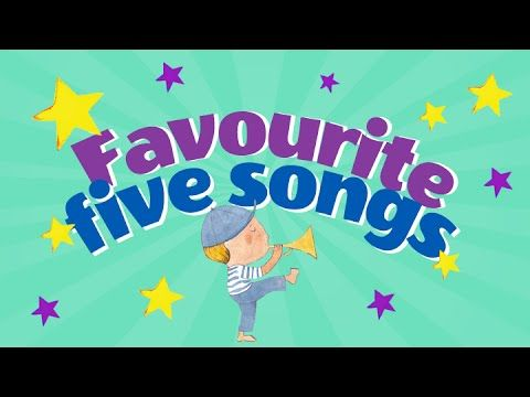 Favorite children's songs: 0:05 Wheels on the Bus 2:14 We're Going to the Zoo 4:47 Alice the Camel 6:41 Hey Baby Lets Rock and Roll 8:35 Touch the Stars. Kids will love to sing and dance along to Children Love to Sing top songs.