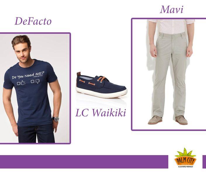 #DeFacto #mavi #Tshirt #pantolon #ayakkabı #kombin #outfits #moda #fashion
