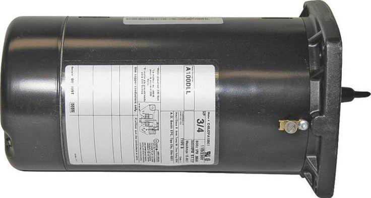 Sta-Rite A100DLL Jet Pump Motor, 115/230 Volt, 3/4 HP