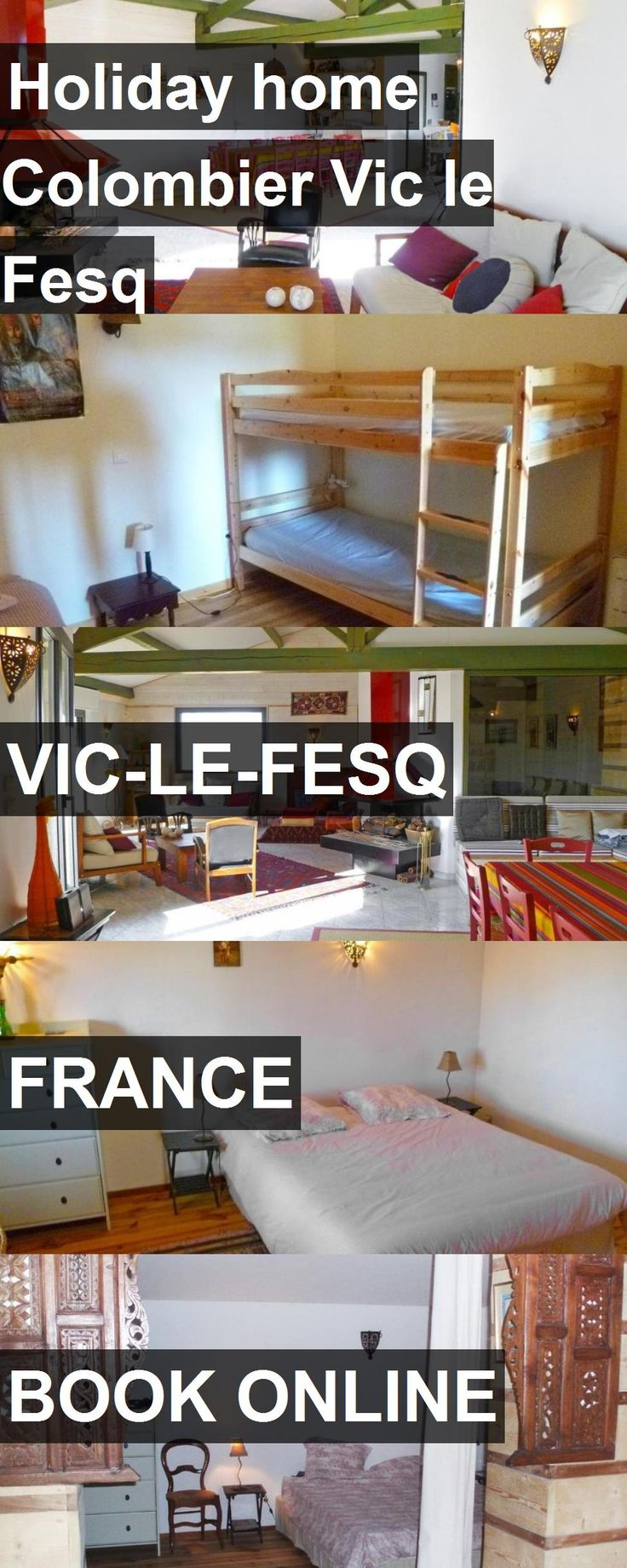 Hotel Holiday home Colombier Vic le Fesq in Vic-le-Fesq, France. For more information, photos, reviews and best prices please follow the link. #France #Vic-le-Fesq #travel #vacation #hotel