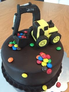 Kaivurikakku / digger cake