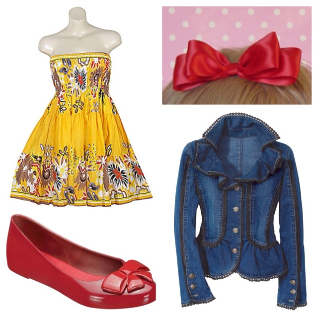 Snow White by Katie  #Katy, Fashion Passion Th, Disney Outfit, Disney Snow White Outfit Ideas, Disney Bound, Covers Girls, Fashion Finding, Disney Girls, Dreams Closets
