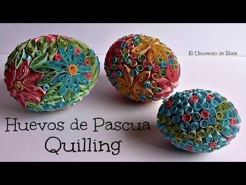 1205 best images about quilling aves 2 on pinterest for Decoracion de pascua