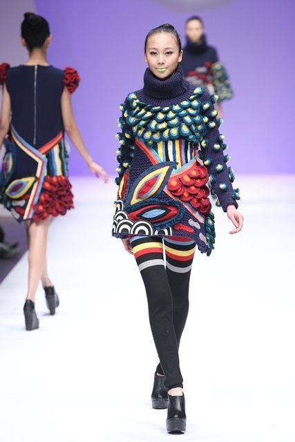 9 besten Knitting design Bilder auf Pinterest   Mode design ...