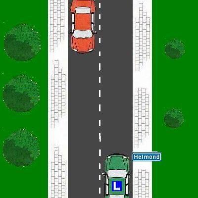 7 Hoe hard mag je hier rijden?