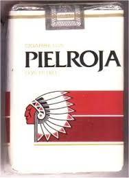 Cigarrillos piel roja (ambientación)